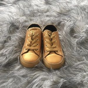 Other - Toddler converse gold size 7